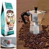 Puerto Rican Coffee Kit with Cafe Ama Love Blend