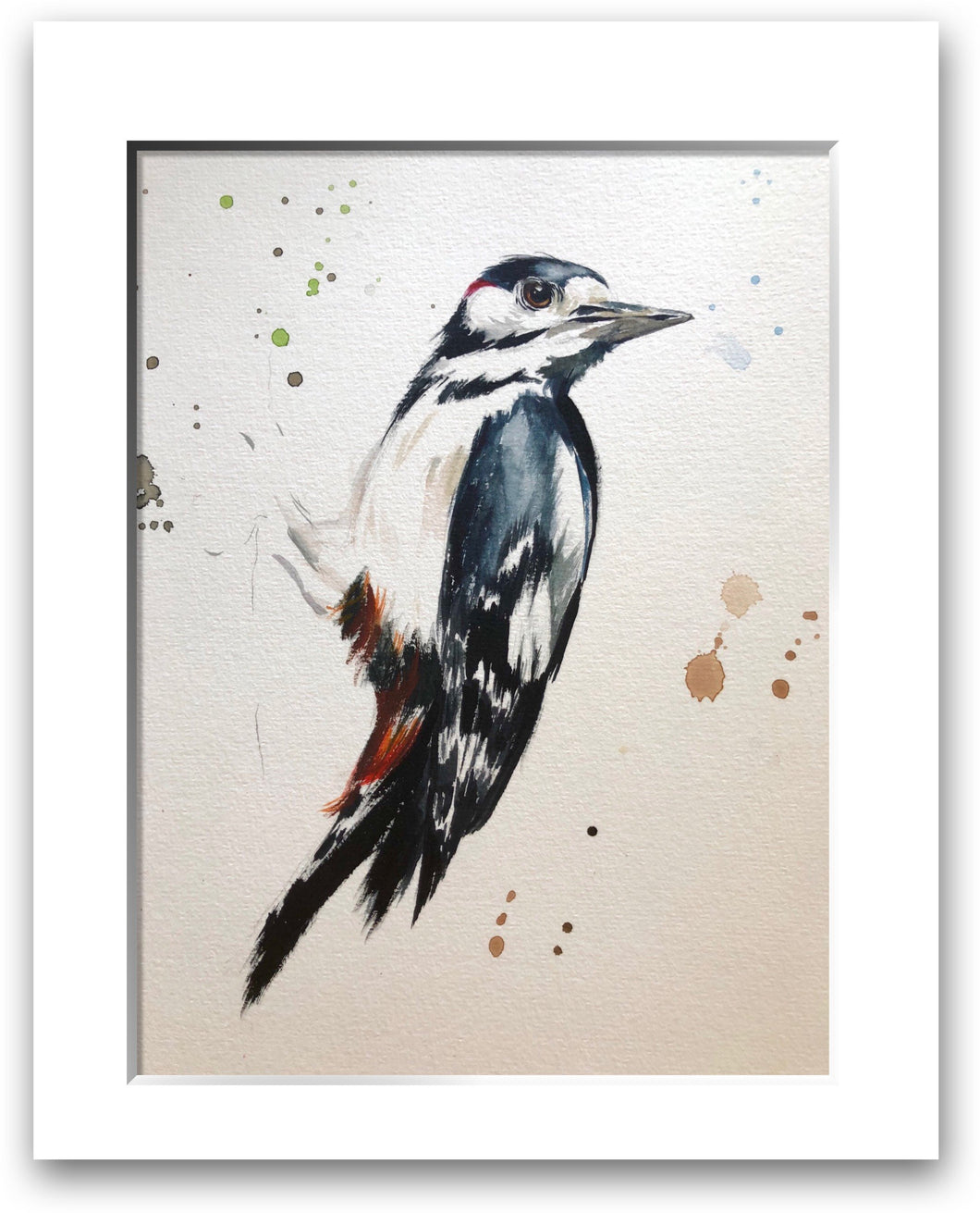 Great Spotted Woodpecker (signed limited edition print)