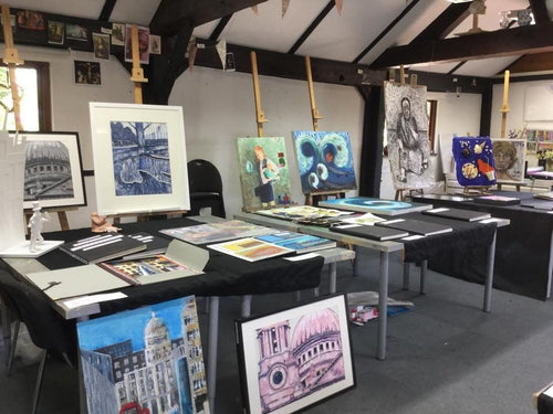 A level / GCSE fine art (Mondays) Starting 24th February 2020 10-12noon