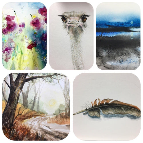 Watercolour 1 (Wednesdays 10-12) Starting 26th February 2020.