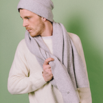 Scarf - Heaven | Light Grey - Mützenmafia