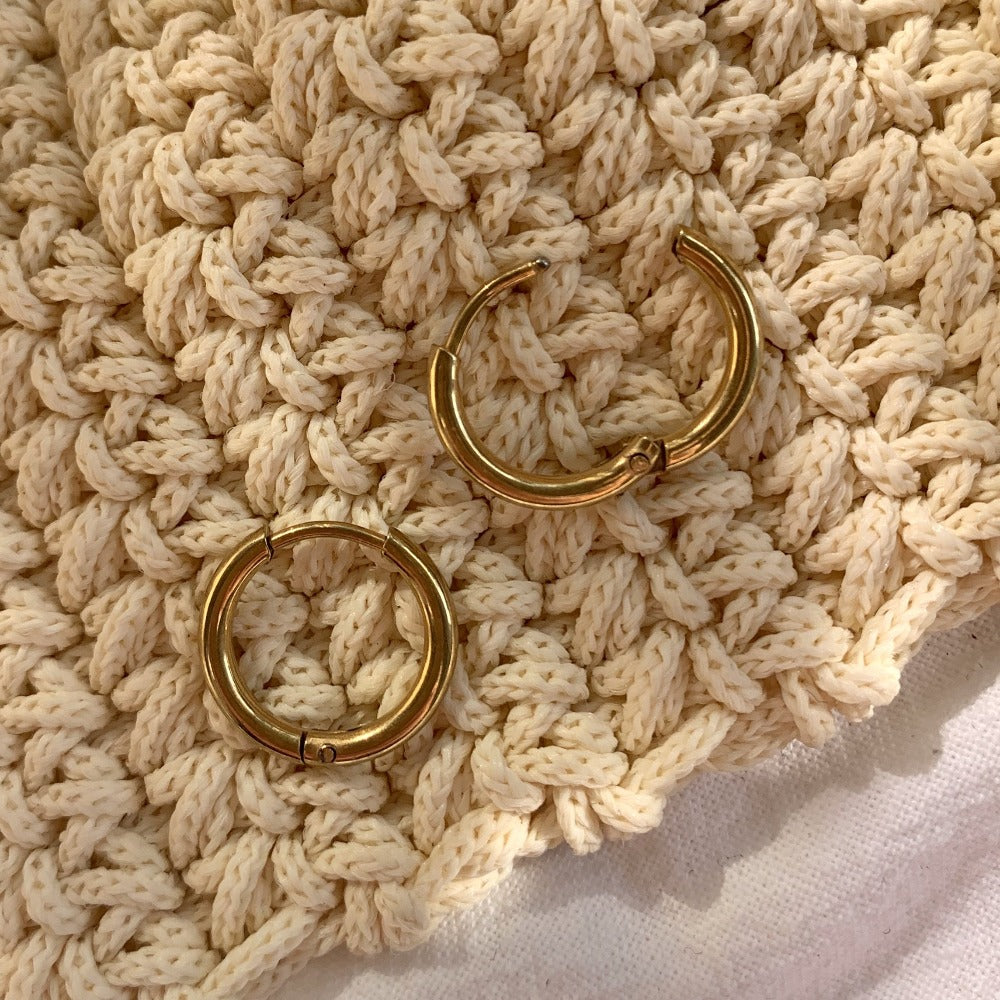 Ohrring | Golden Hoops
