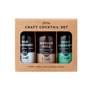 Mini Cocktail Syrup - 3 Pack Set
