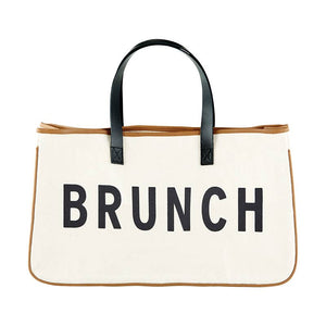 Brunch Canvas Tote