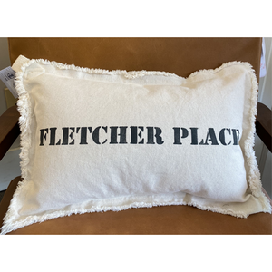 Fletcher Place, Lumbar Neighborhood Pillow