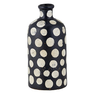 Black & White Terracotta Vase