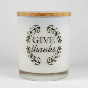 """Give Thanks"" Soy Candle"