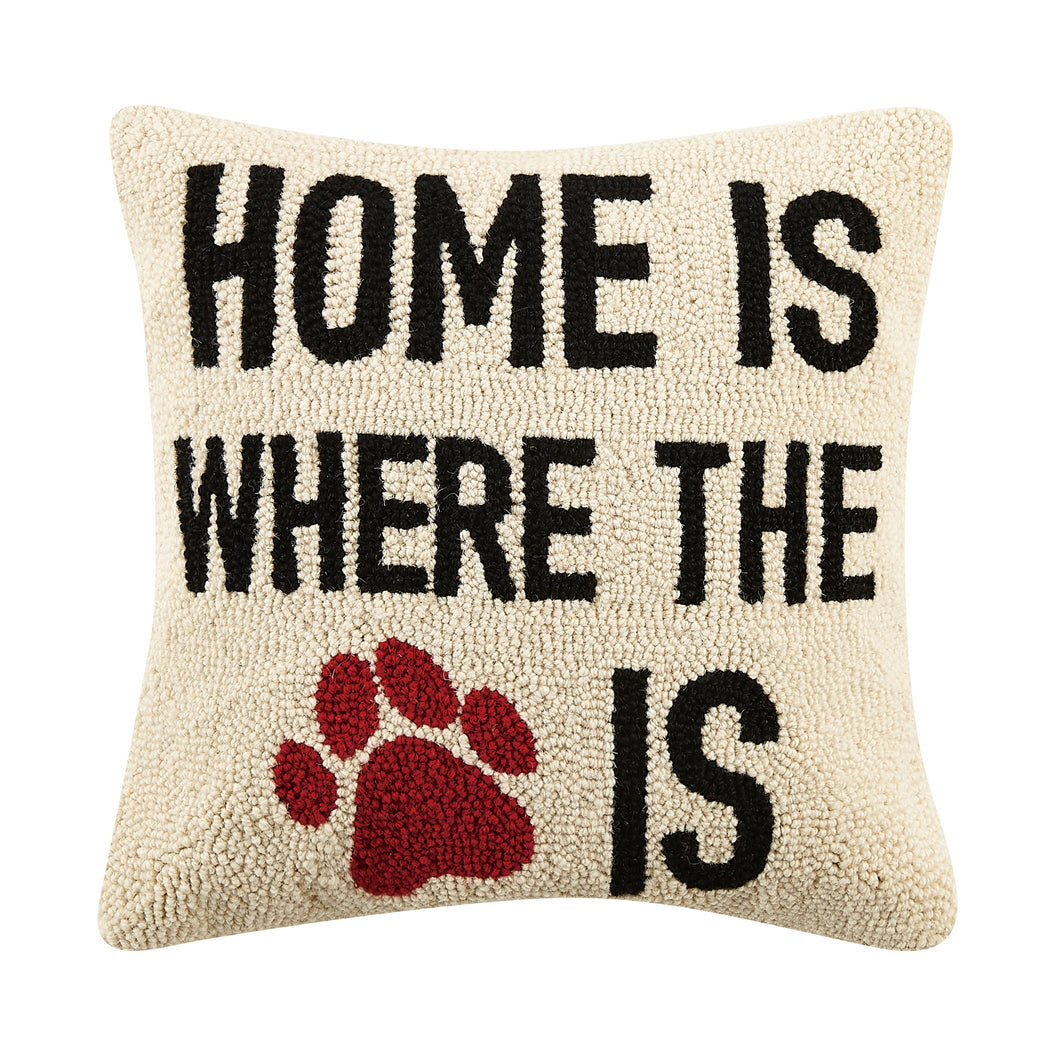 Home is Where Hook Pillow