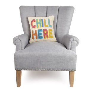 Chill Here Hook Pillow