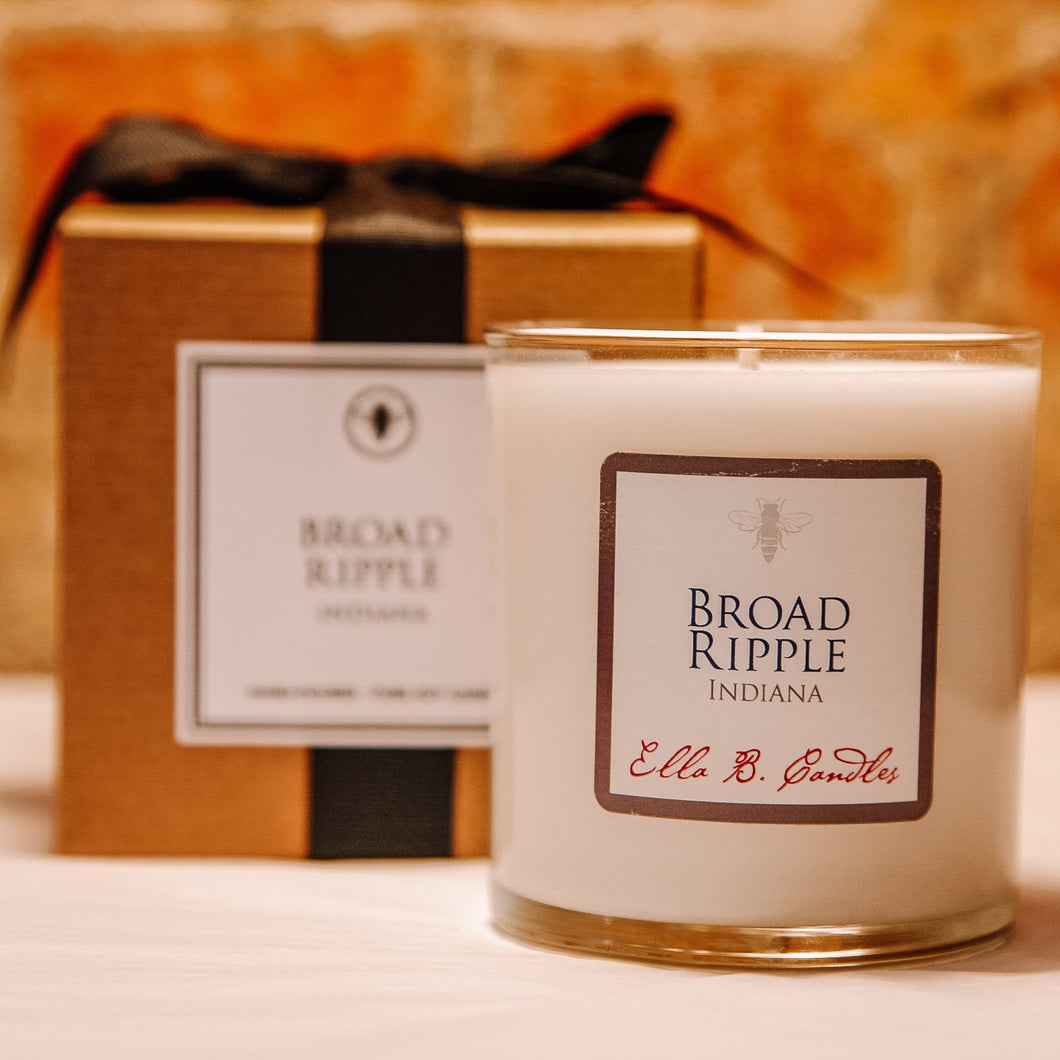 Broad Ripple Neighborhood Candle