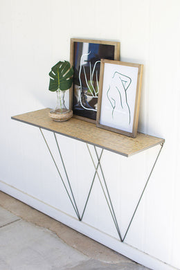 Iron Wall Console