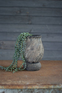 Textured Clay Vessels