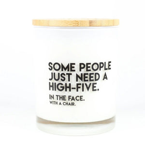 """High Five"" Soy Candle"