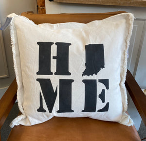 Home, Indy Neighborhood Pillow