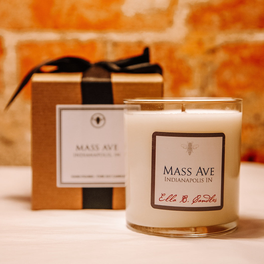 Mass Avenue Neighborhood Candle
