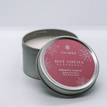 Load image into Gallery viewer, Hot Cocoa Travel Tin Candle