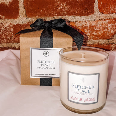 Fletcher Place Neighborhood Candle