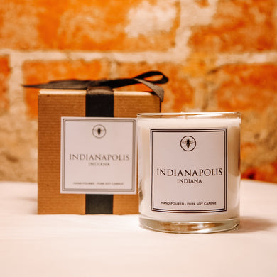 Indianapolis Neighborhood Candle