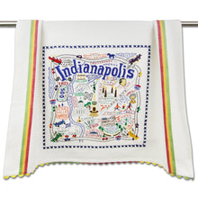 Load image into Gallery viewer, Indianapolis Dishtowel by Cat Studio