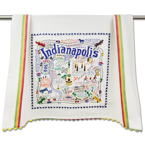 Indianapolis Dishtowel by Cat Studio