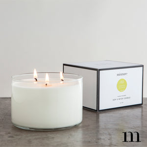 3-Wick Black Pepper Candle
