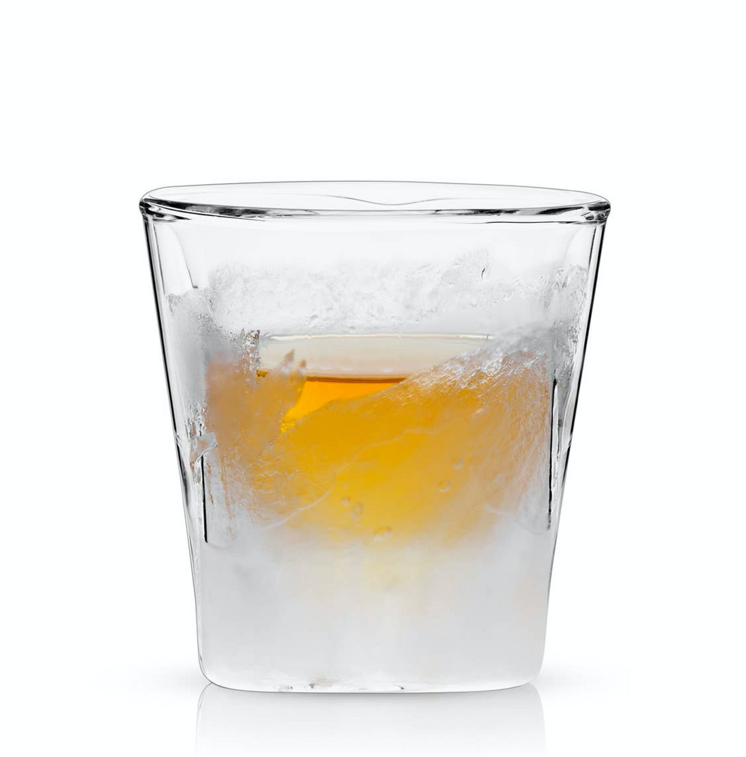 Raye Double Walled Chilling Whiskey Glass