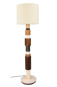 Wood Tones Floor Lamp