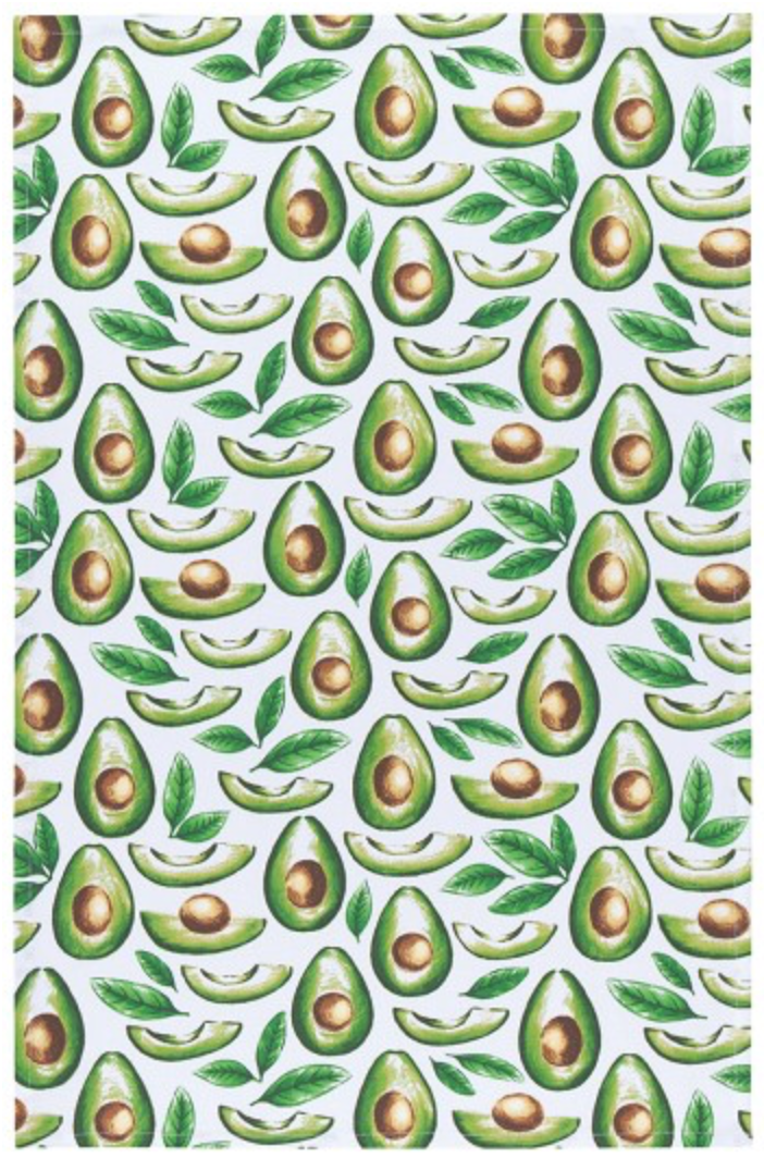 Avocado Print Dishtowel