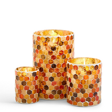 Load image into Gallery viewer, Mosaic Candle Holders - 3 sizes