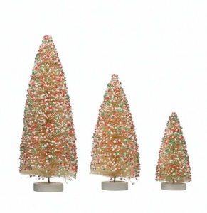 Sprinkles Bottle Brush Tree -- only 1 left!
