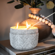 Load image into Gallery viewer, Stucco Pot Soy Candle
