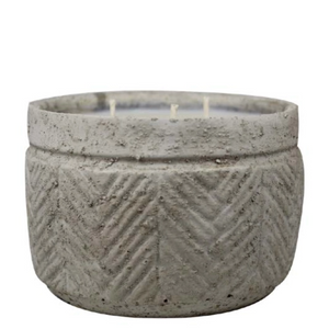 Stucco Pot Soy Candle