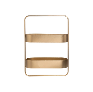 Modern Wall Shelf, Gold