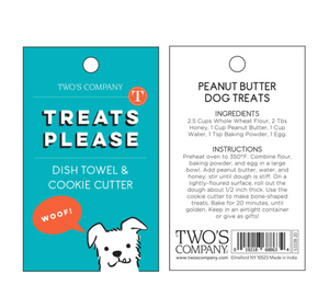 Dog Dishtowel & Cookie Cutter