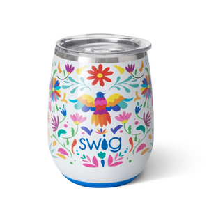 Viva Fiesta Stemless Wine Glass