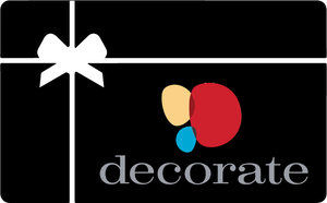 Decorate Gift Certificate