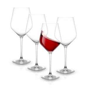 Layla Red Wine Glasses, Set of 4