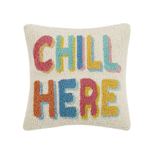 Load image into Gallery viewer, Chill Here Hook Pillow