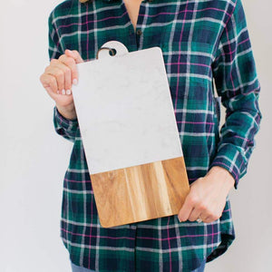 Modern Rectangle Serving Board