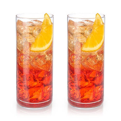 Crystal Highball Glasses - Set of 2