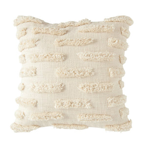 Cotton Pillow with Fringe