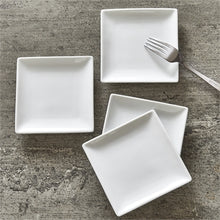 Load image into Gallery viewer, Square Plate - Set of 4