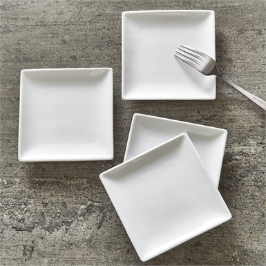 Square Plate - Set of 4