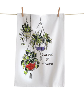 Hang in There Dishtowel