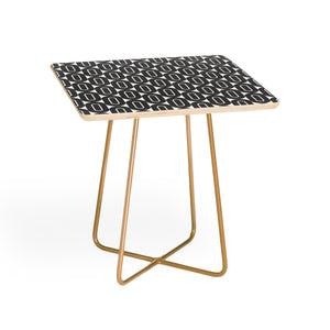 Grey Dot Side Table