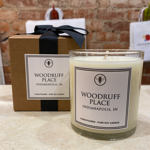 Woodruff Place Neighborhood Candle