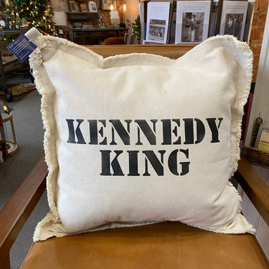 Kennedy King, Square Neighborhood Pillow