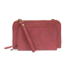 Convertible Zip Around Wristlet