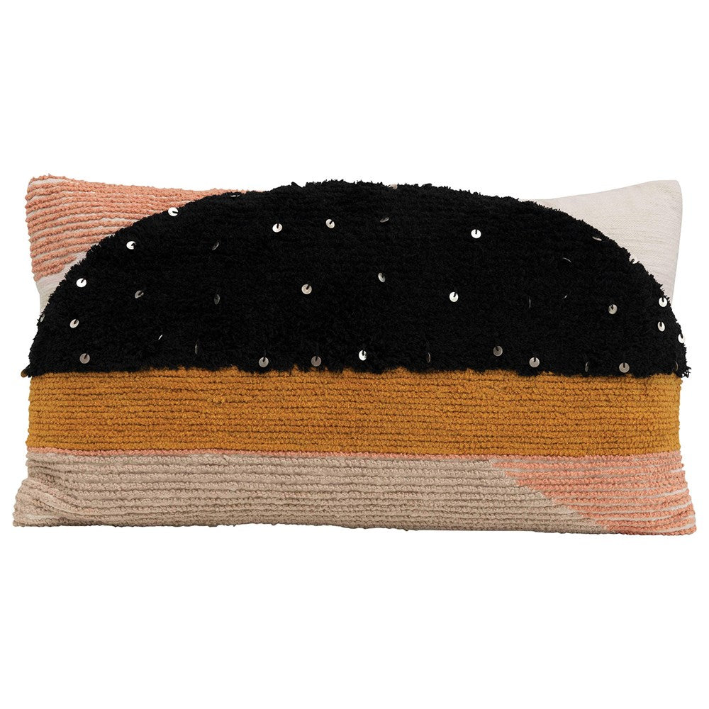 Multi Color Lumbar Pillow
