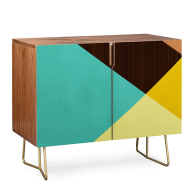 Triangle Footprint Credenza